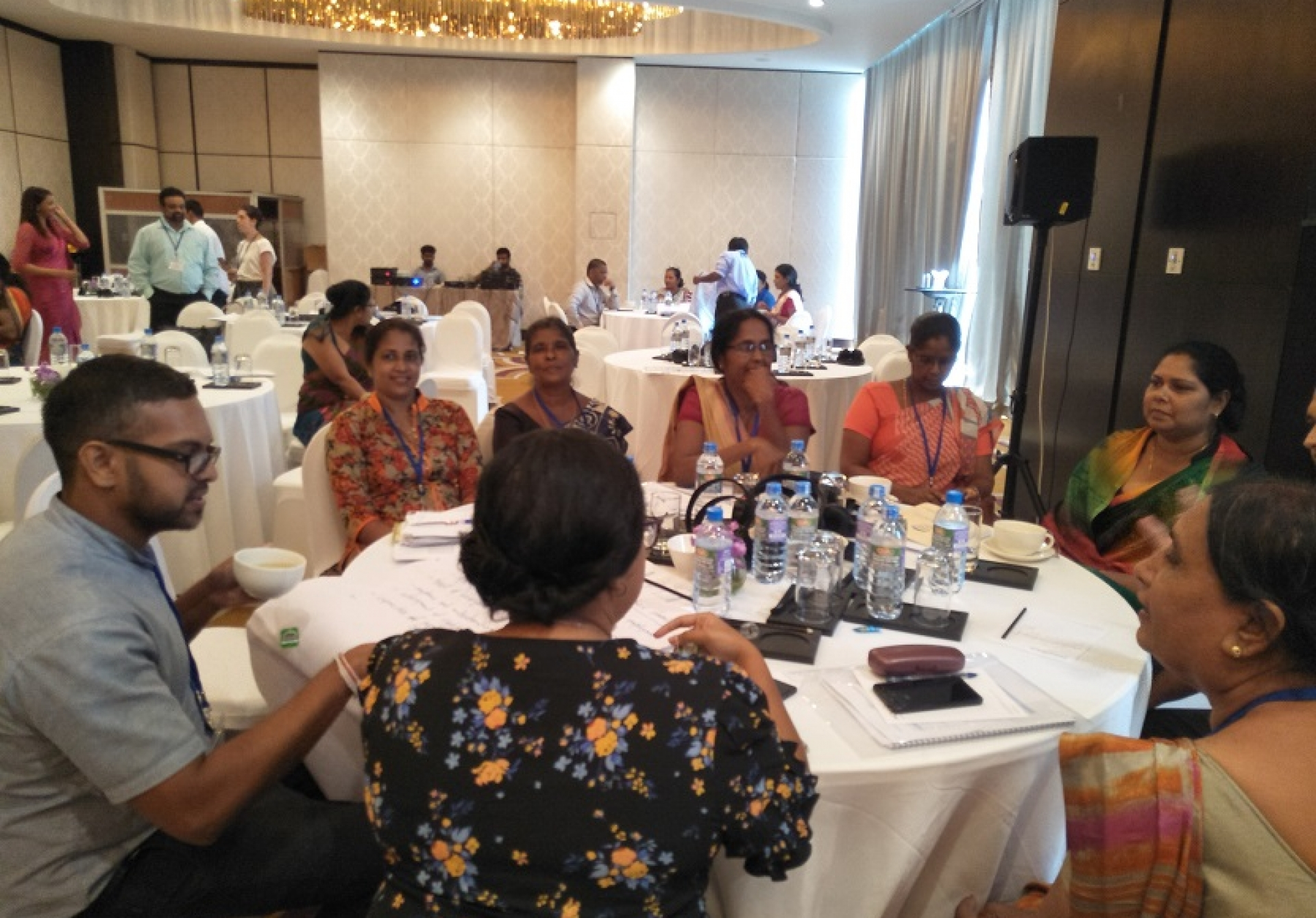A National Consultation On The Global Compact On Migration (GCM) Sri Lanka organized by the American Solidarity Center was held at Colombo Movenpick Hotlel on July 29th and 30th 2018